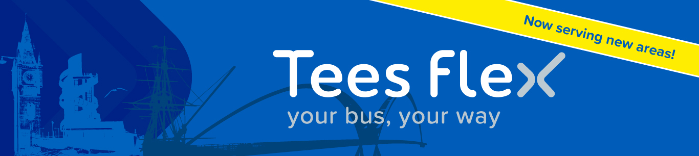 TEES FLEX ON DEMAND BUS SERVICE
